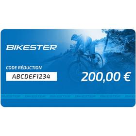Bikester chéque cadeau - 200 €